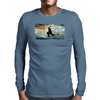 Longboarding Skateboarding in Australia Mens Long Sleeve T-Shirt
