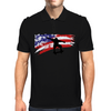 Longboarding Skateboarding in USA Mens Polo