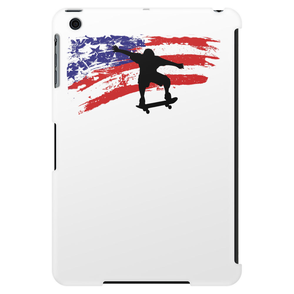 Longboarding Skateboarding in USA Tablet (vertical)