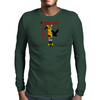 Longboarding Surfing Streets Mens Long Sleeve T-Shirt