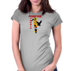 Longboarding Surfing Streets Womens Fitted T-Shirt