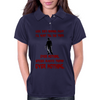 LOOK SHE'S RUNNING AWAY Womens Polo