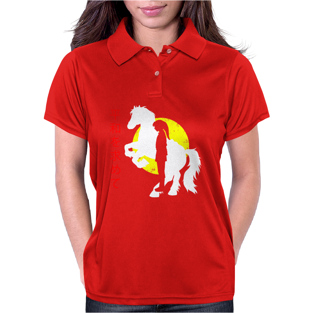 Looking for peace Womens Polo