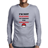 Looking For Pokemon Mens Long Sleeve T-Shirt