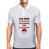 Looking For Pokemon Mens Polo