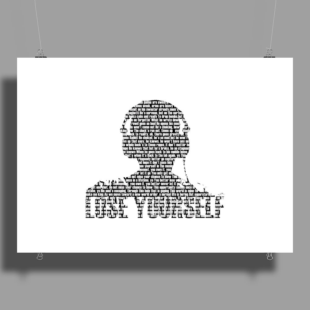 Lose Yourself Poster Print (Landscape)