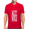 Losing All Hope Was Freedom Mens Polo