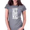 Losing All Hope Was Freedom Womens Fitted T-Shirt