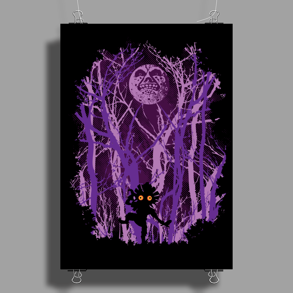 Lost In The Woods Poster Print (Portrait)