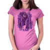 Lost In The Woods Womens Fitted T-Shirt