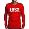 Lost Mens Long Sleeve T-Shirt
