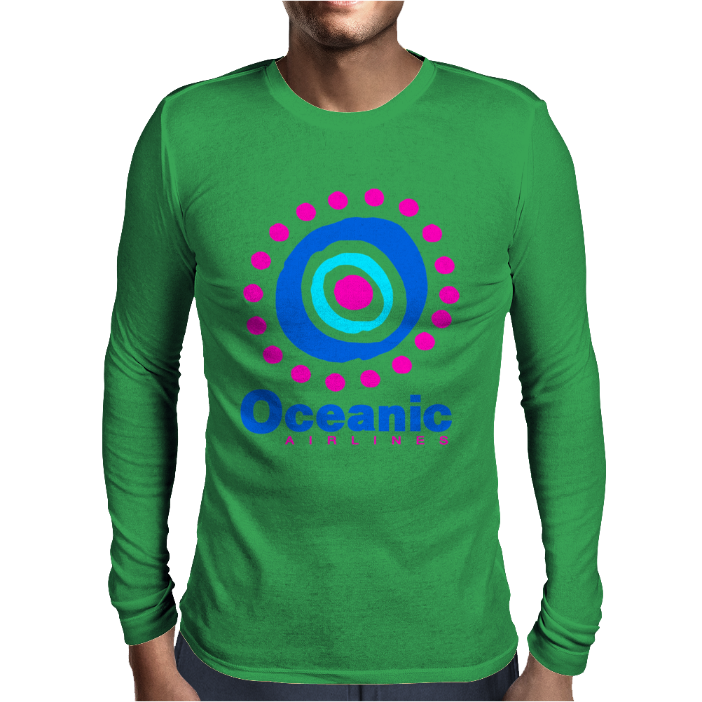 Lost Oceanic Airlines. Mens Long Sleeve T-Shirt