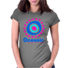 Lost Oceanic Airlines. Womens Fitted T-Shirt