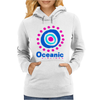 Lost Oceanic Airlines. Womens Hoodie
