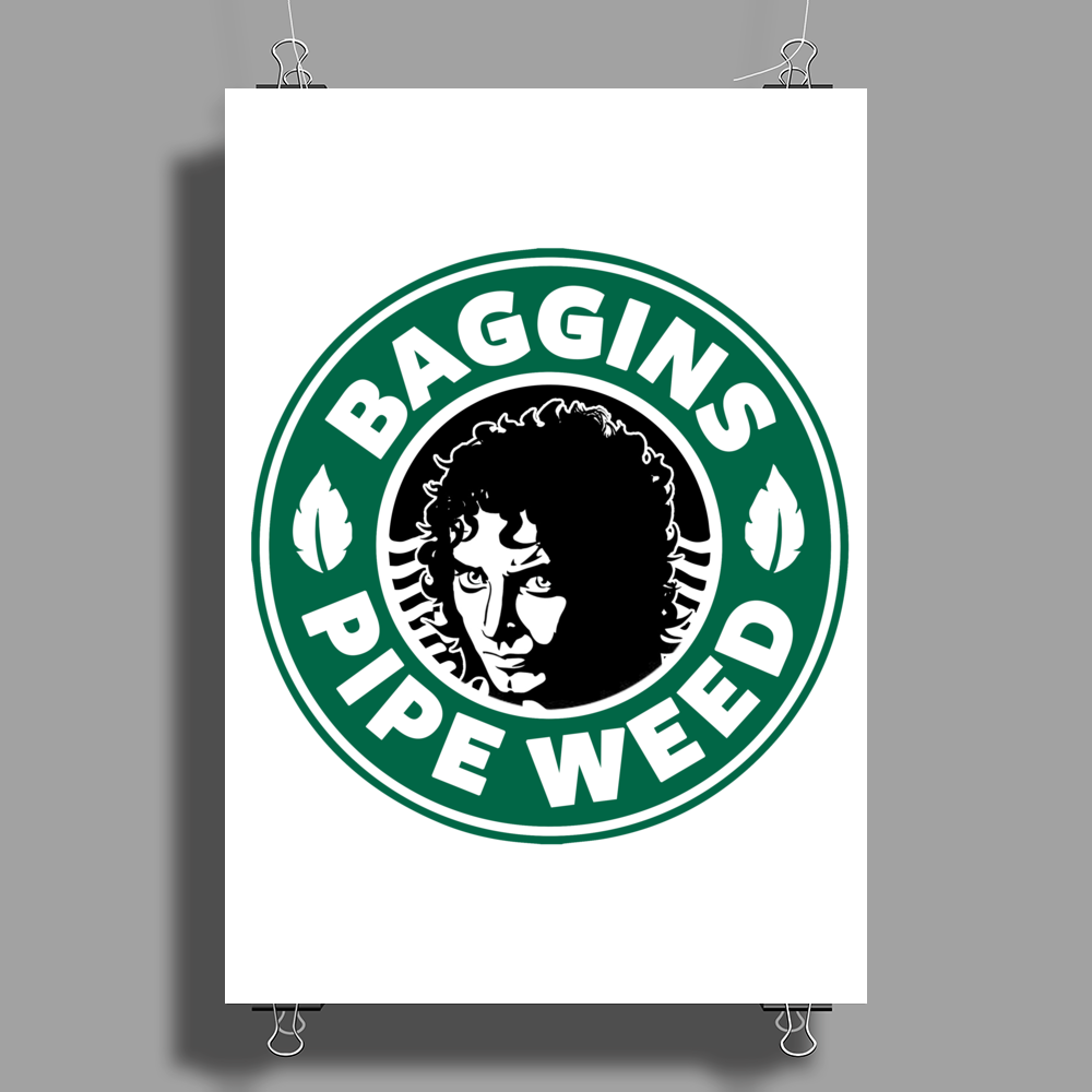 LOTR - Bagging Pipe Weed Poster Print (Portrait)