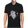 Lotus Flower Mens Polo