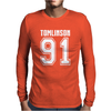 Louis Tomlinson 91 1D Mens Long Sleeve T-Shirt