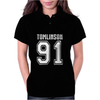 Louis Tomlinson 91 1D Womens Polo