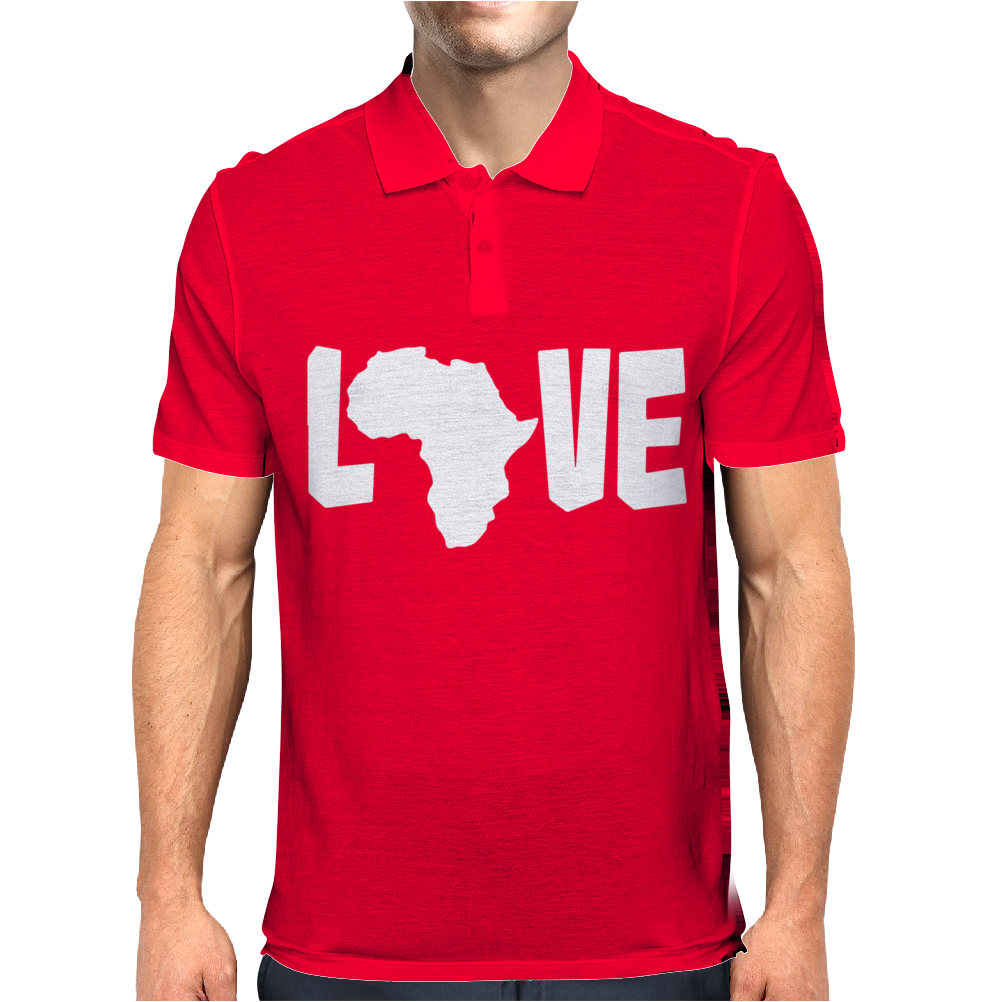 Love Africa Mens Polo