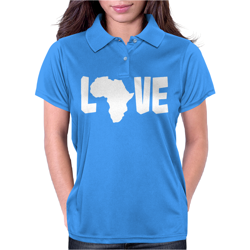 Love Africa Womens Polo