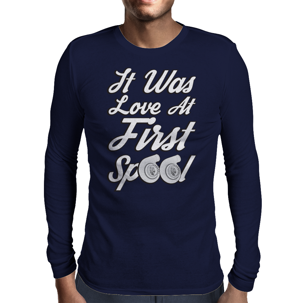 Love at First Spool Mens Long Sleeve T-Shirt