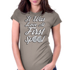 Love at First Spool Womens Fitted T-Shirt