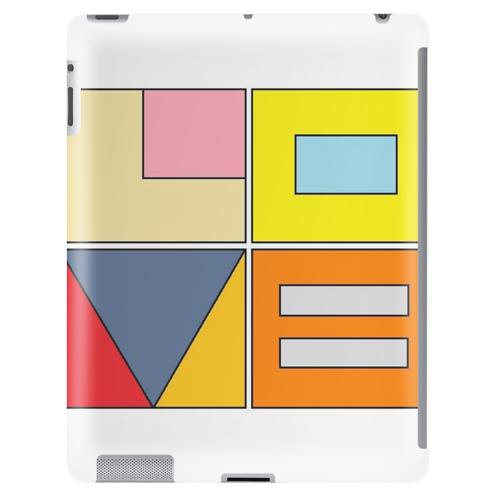love blocks Tablet (vertical)