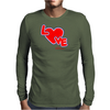 Love By Essence of Heart Mens Long Sleeve T-Shirt