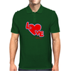 Love By Essence of Heart Mens Polo