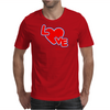 Love By Essence of Heart Mens T-Shirt