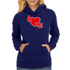 Love By Essence of Heart Womens Hoodie
