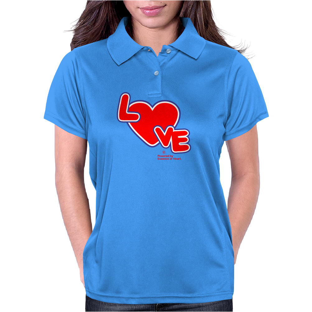 Love By Essence of Heart Womens Polo