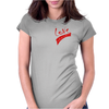 L.O.V.E Exclusive (Red) Womens Fitted T-Shirt
