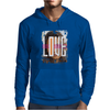 Love Graphic Mens Hoodie