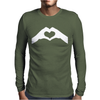 Love Hands Mens Long Sleeve T-Shirt