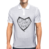 Love harder. Mens Polo