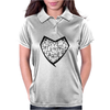 Love harder. Womens Polo