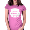 Love Heart Outline Valentine's Day. Womens Fitted T-Shirt
