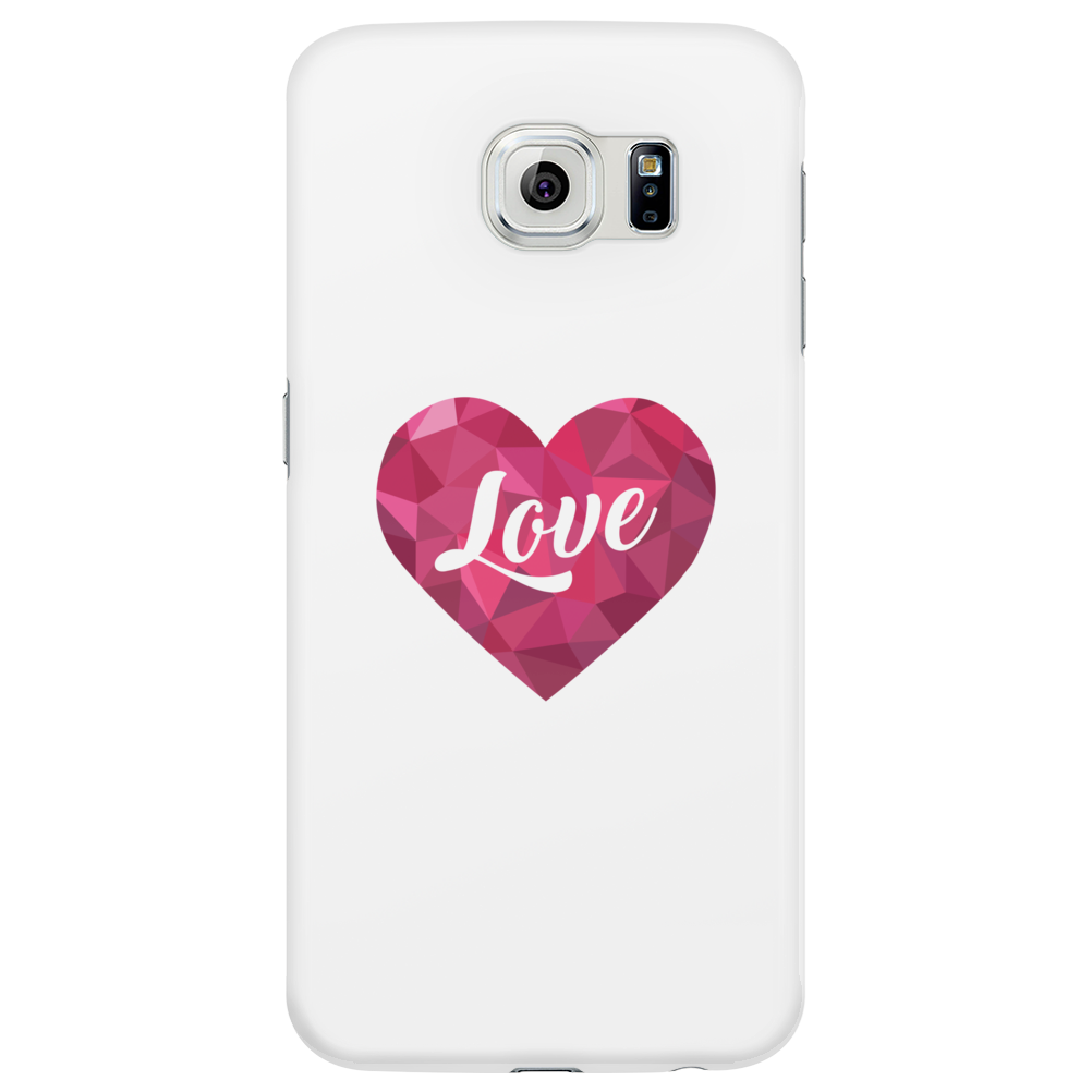 Love Heart with Love Phone Case