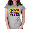 Love Hope Peace Womens Fitted T-Shirt