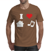 Love House Music Funny Mens T-Shirt
