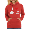 Love House Music Funny Womens Hoodie
