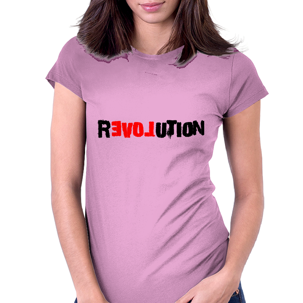 Love in Revolution Womens Fitted T-Shirt