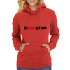 Love in Revolution Womens Hoodie