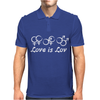 Love is Love Mens Polo
