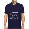 Love isn't defined,,(grey) Mens Polo