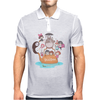 love it ghibli studio Mens Polo