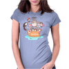 love it ghibli studio Womens Fitted T-Shirt