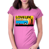 Love Life - Combi Surf Womens Fitted T-Shirt