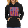 Love life, live more, or f**k off Womens Hoodie